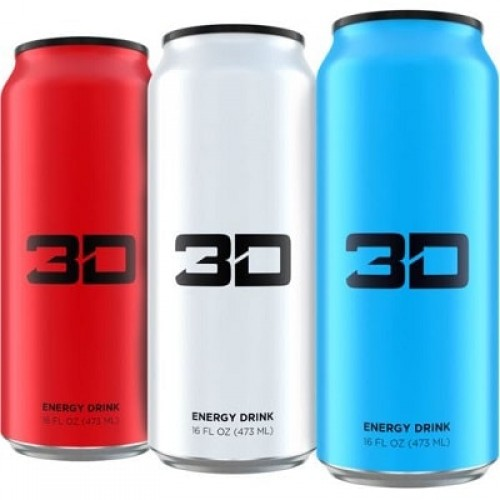 3D ENERGY DRINKS 3D ENERGY - 473 ml Pre Workout