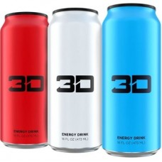 3D ENERGY DRINKS 3D ENERGY - 473 ml