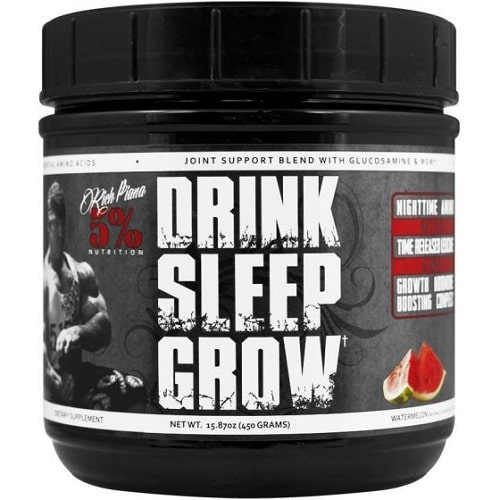 5% NUTRITION DRINK SLEEP GROW - 30 servings Amino Acids