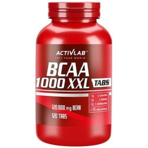 ACTIVLAB BCAA 1000 XXL - 120 tabs BCAA Supplements
