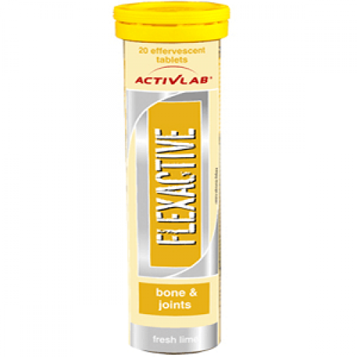 ACTIVLAB FLEXACTIVE - 20 effervescent tabs lime Joint support