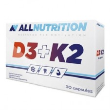 ALLNUTRITION D3 + K2 - 30 caps
