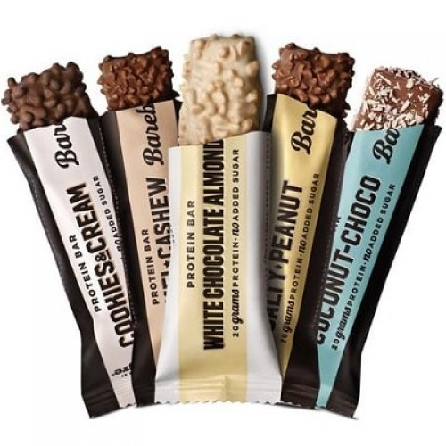 BAREBELLS PROTEIN BAR - 55 g Bars, Gels & Snacks