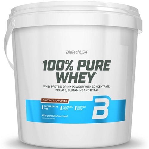 BIOTECH USA 100% PURE WHEY - 4000 g Protein Powder