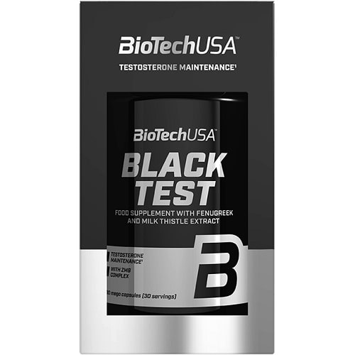 BIOTECH USA  BLACK TEST - 90 caps Hormone Support