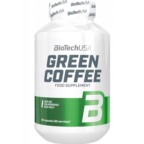 BIOTECH USA GREEN COFFEE - 120 caps Weight Loss Support