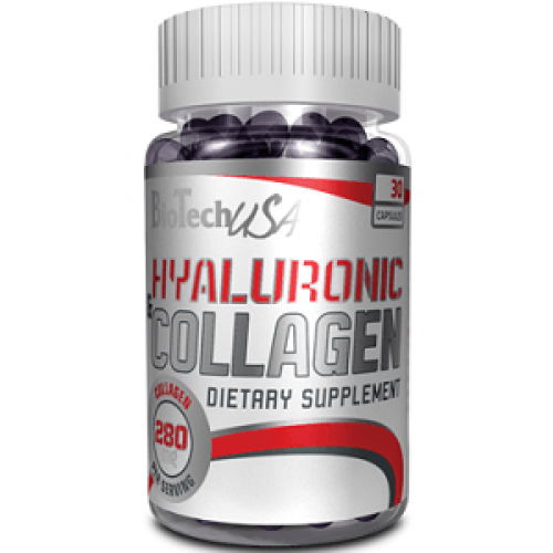 BIOTECH USA HYALURONIC & COLLAGEN - 30 caps Joint support