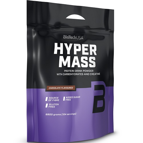 BIOTECH USA HYPER MASS - 6800 g Weight Gainers
