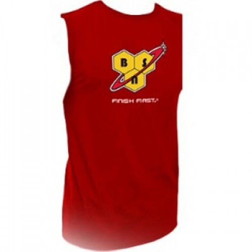 BSN VEST - Red Clothing