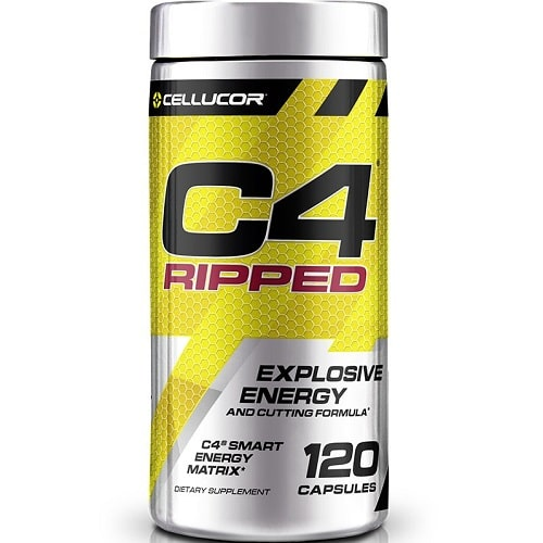 CELLUCOR C4 RIPPED - 120 caps Weight Loss Support