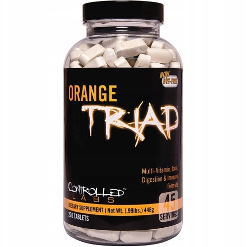 CONTROLLED LABS ORANGE TRIAD - 270 caps Joint support