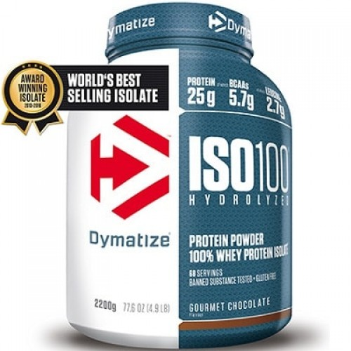 DYMATIZE ISOLATE ISO-100 - 2200 g * BEST BEFORE 09/20 * Protein Powder