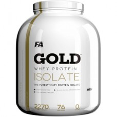 FA NUTRITION GOLD WHEY PROTEIN ISOLATE - 2270 g