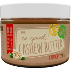 FA NUTRITION SO GOOD! CASHEW BUTTER - 350 g crunchy