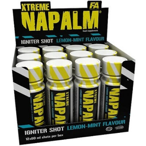 FA NUTRITION XTREME NAPALM IGNITER SHOT - 60 ml Pre Workout