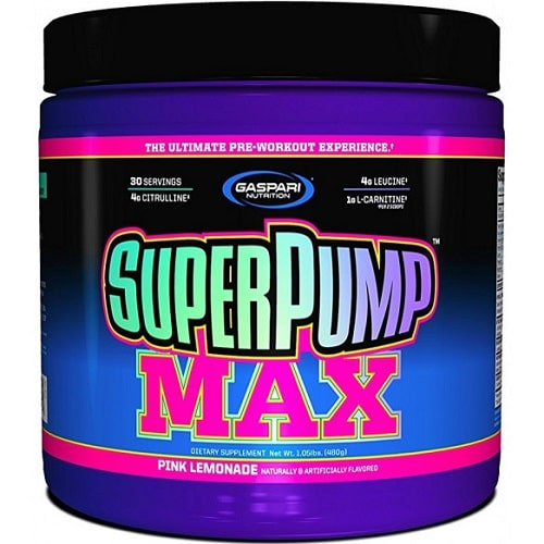 GASPARI NUTRITION SUPERPUMP MAX - 30 servings Pre Workout