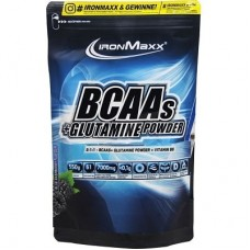 IRONMAXX BCAAS + GLUTAMINE POWDER - 550 g