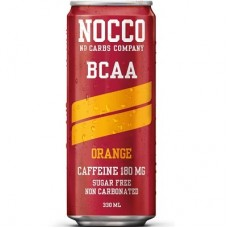 NOCCO BCAA WITH CAFFEINE NON CARBONATED - 330 ml orange