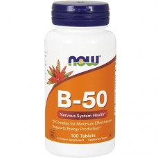 NOW FOODS B-50 - 100 tablets