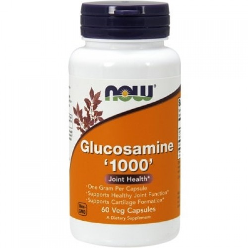 NOW FOODS GLUCOSAMINE 1000 - 60 veg caps  Joint support