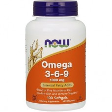 NOW FOODS OMEGA 3-6-9 - 100 softgels