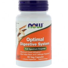NOW FOODS OPTIMAL DIGESTIVE SYSTEM - 90 veg caps