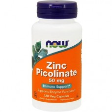 NOW FOODS ZINC PICOLINATE 50 mg - 120 veg caps