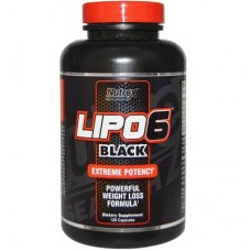 NUTREX RESEARCH LIPO 6 BLACK - 120 caps