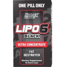 NUTREX RESEARCH LIPO 6 BLACK ULTRA CONCENTRATE - 60 caps