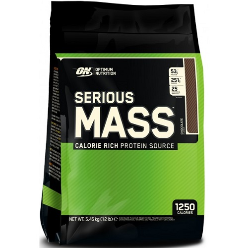 OPTIMUM NUTRITION SERIOUS MASS - 5450 g