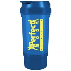 PERFECT BODY NUTRITION TRAVELLER SHAKER - 500 ml Blue