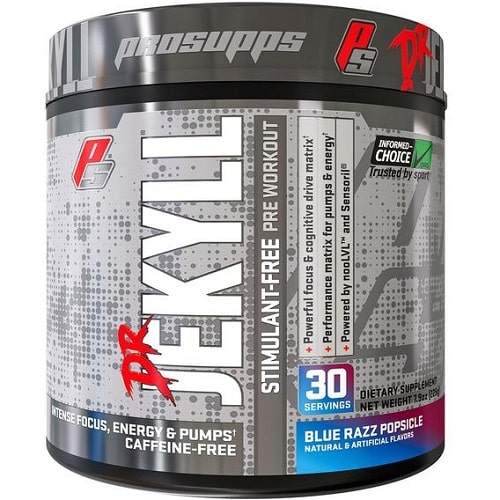 PRO SUPPS DR JEKYLL STIMULANT-FREE - 30 servings Nitric Oxide Booster