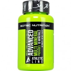 SCITEC NUTRITION ADVANCED MULTI MINERAL - 60 tabs * BEST BEFORE 02/2020 *