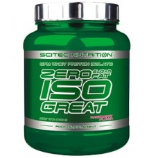 SCITEC NUTRITION ISO GREAT - 900 g Zero Sugar & Zero Fat!