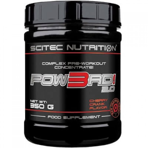 SCITEC NUTRITION POW3RD! 2.0 - 350 g Pre Workout