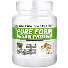 SCITEC NUTRITION PURE FORM VEGAN PROTEIN - 450 g
