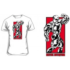 """SCITEC NUTRITION T-SHIRT """"RED BOX"""" - White"""