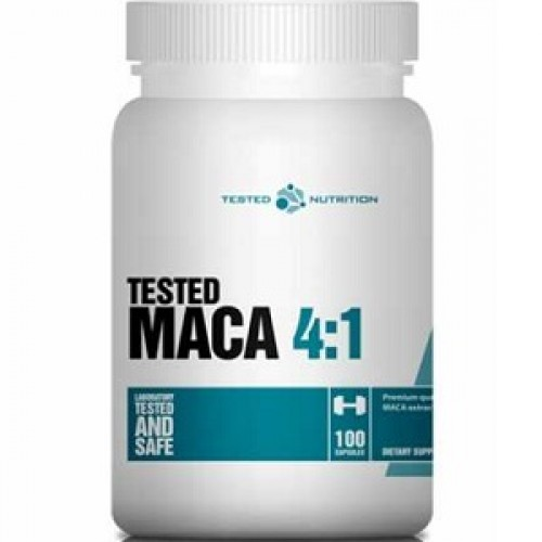 TESTED NUTRITION TESTED MACA 4:1 - 100 caps Vitamins & Minerals
