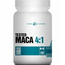 TESTED NUTRITION TESTED MACA 4:1 - 100 caps