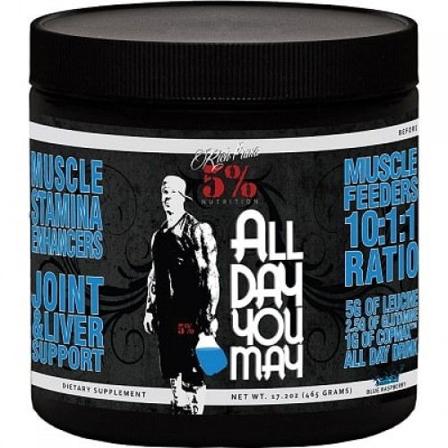 5% NUTRITION ALL DAY YOU MAY - 30 servings Intra Workout