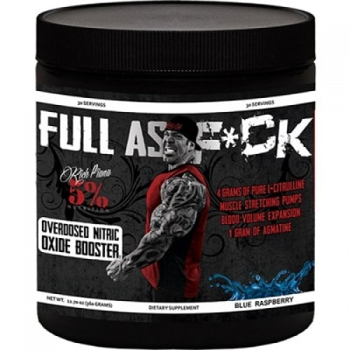 5% NUTRITION FULL AS F*CK - 30 servings Pre Workout