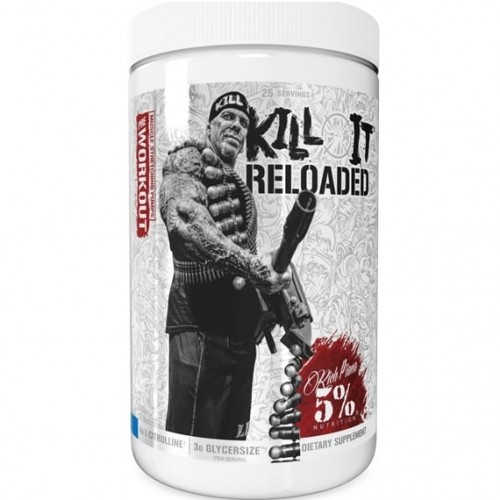 5% NUTRITION KILL IT RELOADED LEGENDARY SERIES - 25 servings Pre Workout