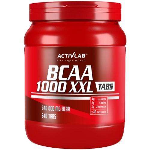 ACTIVLAB BCAA 1000 XXL - 240 tabs BCAA Supplements
