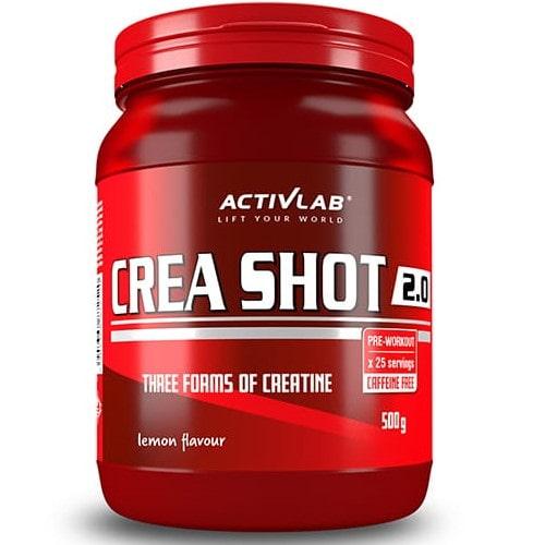 ACTIVLAB CREA SHOT 2.0 - 500 g Creatine - Blends