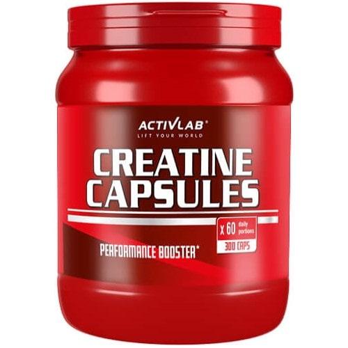 ACTIVLAB CREATINE CAPSULES - 300 caps Endurance & Strength