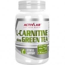 ACTIVLAB L-CARNITINE + GREEN TEA - 60 caps