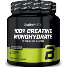 BIOTECH USA 100% CREATINE MONOHYDRATE - 300g