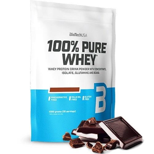 BIOTECH USA 100% PURE WHEY - 1000g Protein Powder