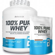 BIOTECH USA 100% PURE WHEY - 2270 g + POUCH 1000 g