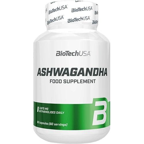 BIOTECH USA ASHWAGANDHA - 60 caps Sleep Aid